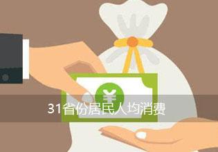 31省份居民人均消费:上海超4万元广东位居第四